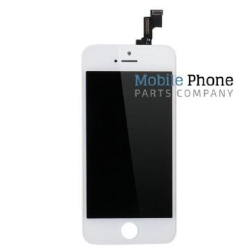iPhone 5SE Complete LCD and Digitiser Assembly in White (HQ)
